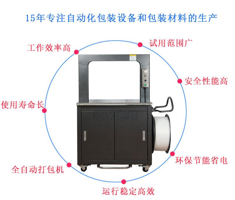 高速全自动打包机YS-305优点